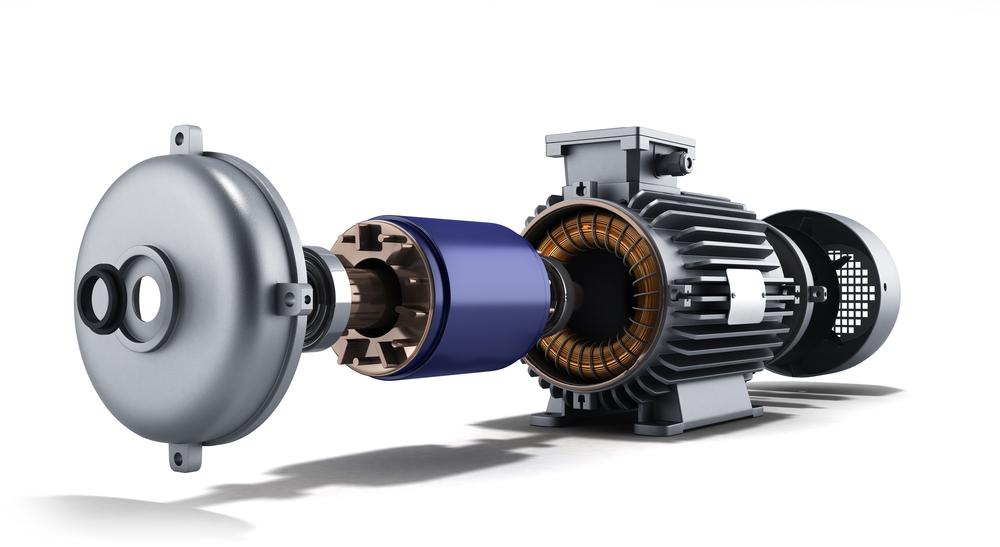 Prinsip Kerja Motor Listrik Induksi