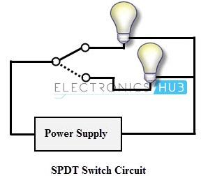 img-rangkaian Saklar Single Pole Double Throw (SPDT)