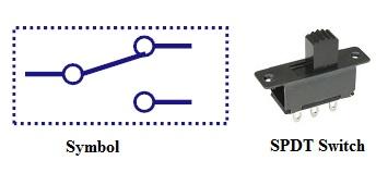 img-simbol Saklar Single Pole Double Throw (SPDT)