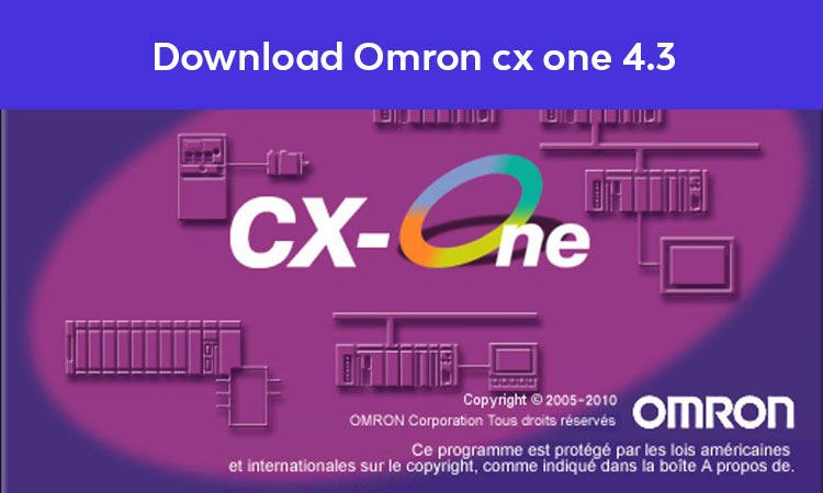 Download-Software-PLC-Omron-cx-one-4.3