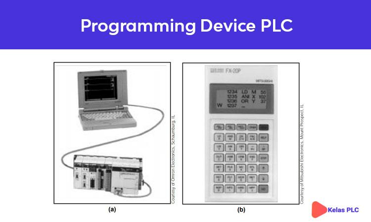 Gambar 1-5. (a) Personal Computer (b) Programming Device PLC