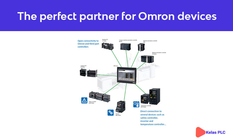 The perfect partner for Omron devices