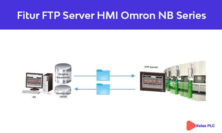 Fitur FTP server HMI Omron NB Series
