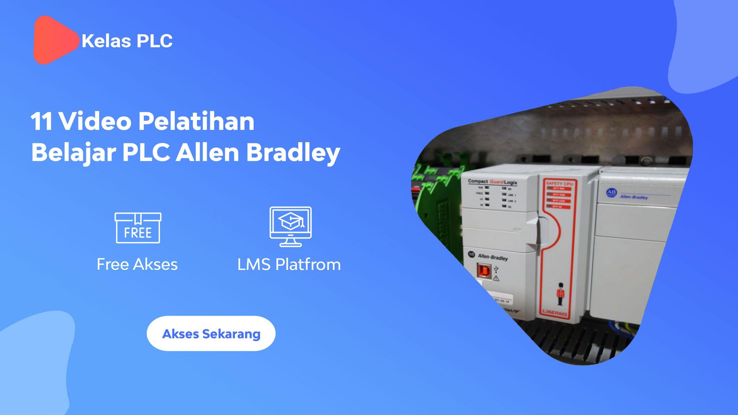 11 Video Pelatihan Belajar PLC Allen Bradley