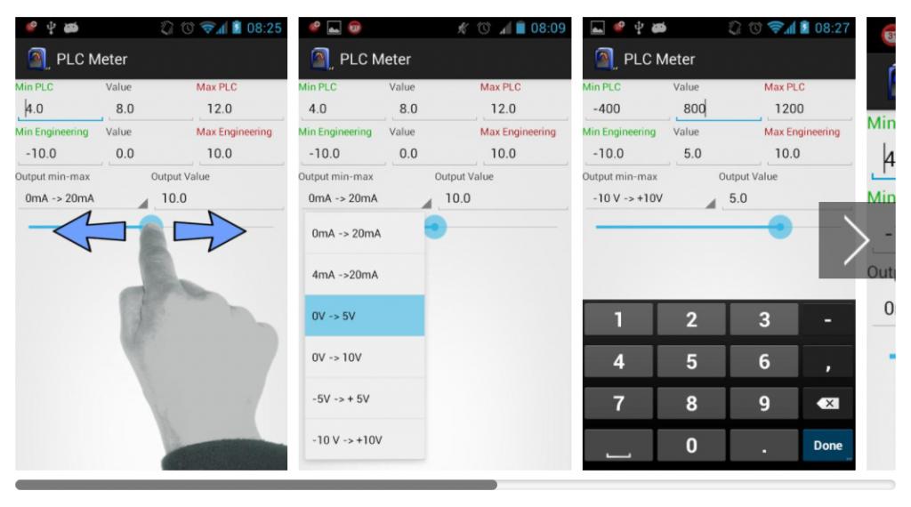 PLC Meter Apps